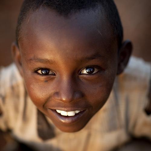 Borana kid - Kenya