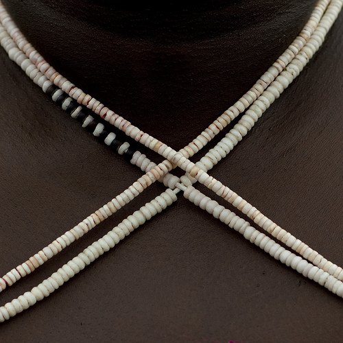 Bougainville shell money necklaces - Papua New Guinea