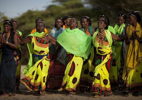 Gabbra women - Kenya