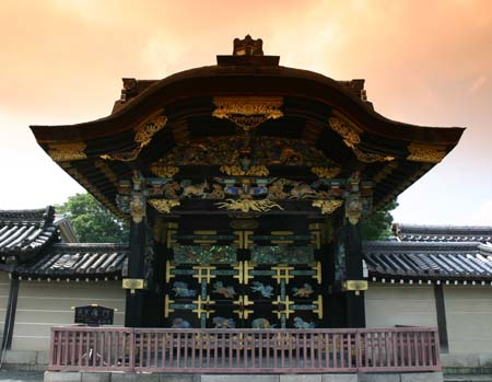 Kyoto Chinese Door