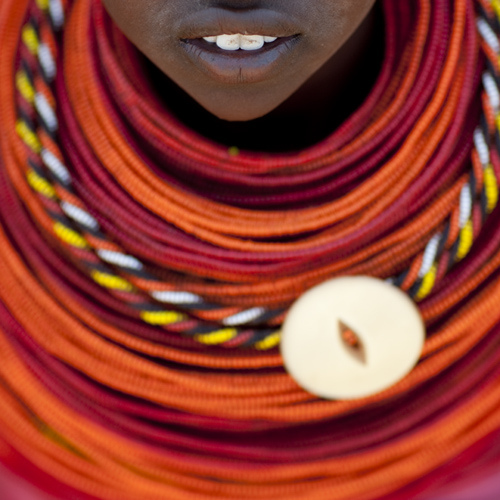 Rendille tribe girl - Kenya