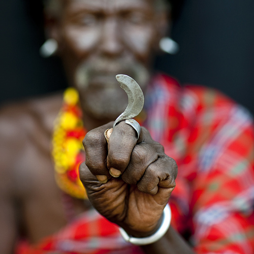 Turkana tribe secret weapon - Kenya
