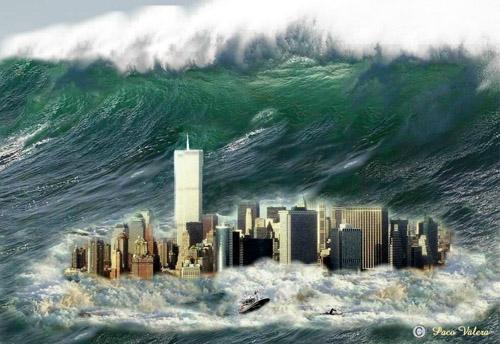 Tsunami in N.Y.