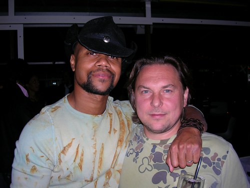 Mario Grigorov with Cuba Gooding, Jr. from the second Lee Daniels film The Shadowboxer.