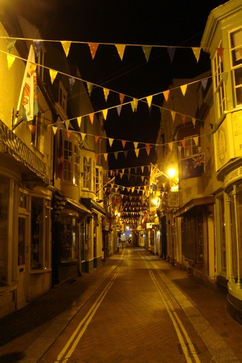 The Streets of Weymouth at Night