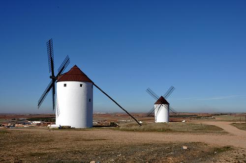 Molinos de viento (windmills)