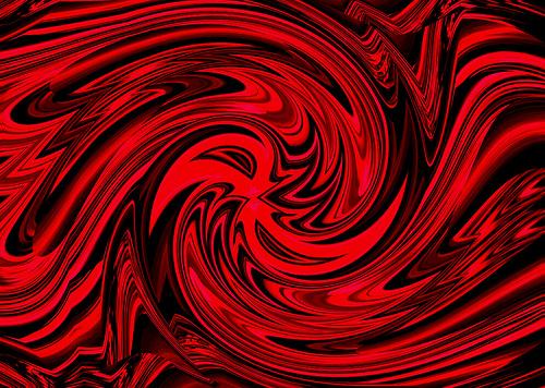 red swirl