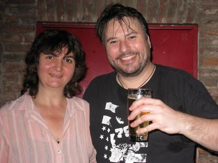 Matt Charles and Lyudmila Yordanova