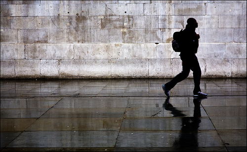 Less is More: Heading home after the rain