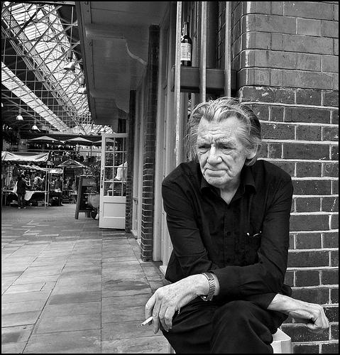 Lost in Thoughts Outside Spitalfield Market
