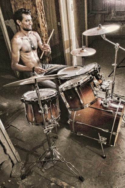 Drummer Ahmed Hesham