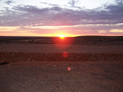Sunrise in South Australia
