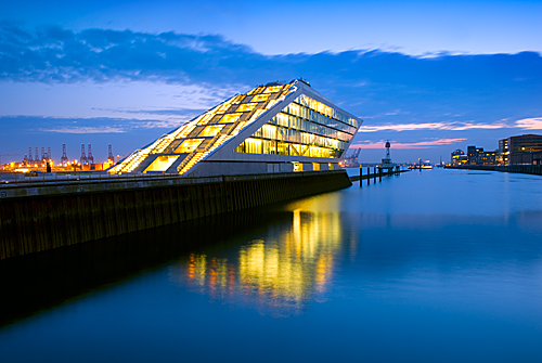 Hamburg - The Dockland Office Building