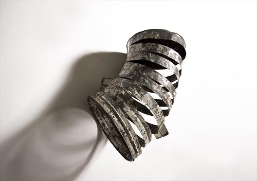 Empty - Steel Bin - Robbie Rowlands - 2011