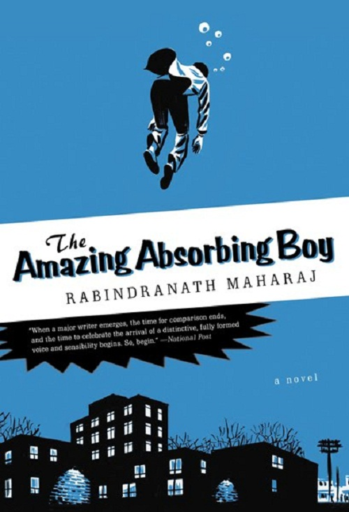 The Amazing Absorbing Boy - Book Cover Art
