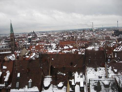 Nuremberg's roofs