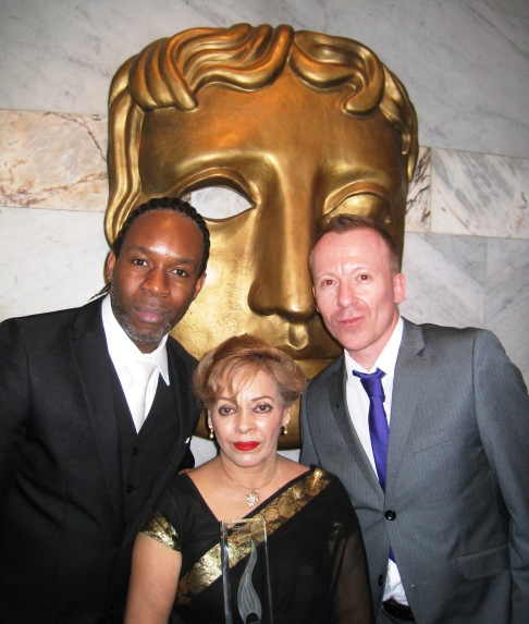 12 Wil Johnson, Chaand and Simon Win at BAFTA 1